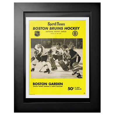Boston Bruins Program Cover - Sport News Boston vs. Philadelphia