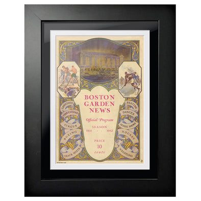 Boston Bruins Program Cover - Boston Garden News 1931