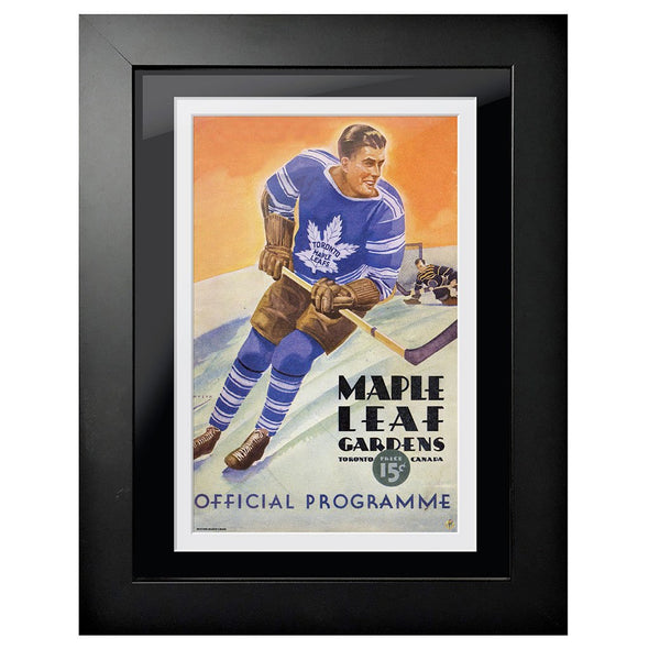 Toronto Maple Leafs Program Cover - Maple Leaf Gardens Skate Away Goal