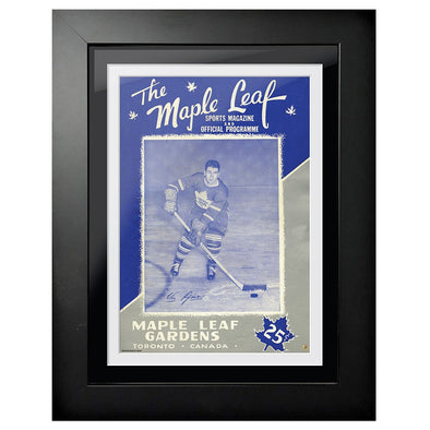 Toronto Maple Leafs Program Cover - The Maple Leaf Sports Magazine