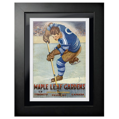 Toronto Maple Leafs Program Cover - Maple Leaf Gardens Player Handle