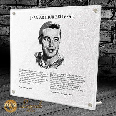 1972 John Beliveau - NHL Legends Plaque
