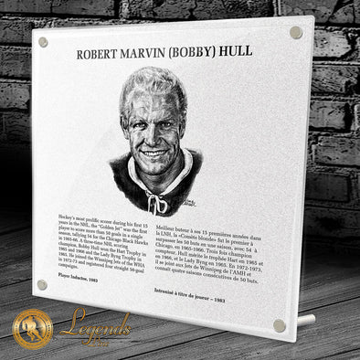 1983 Bobby Hull - NHL Legends Plaque