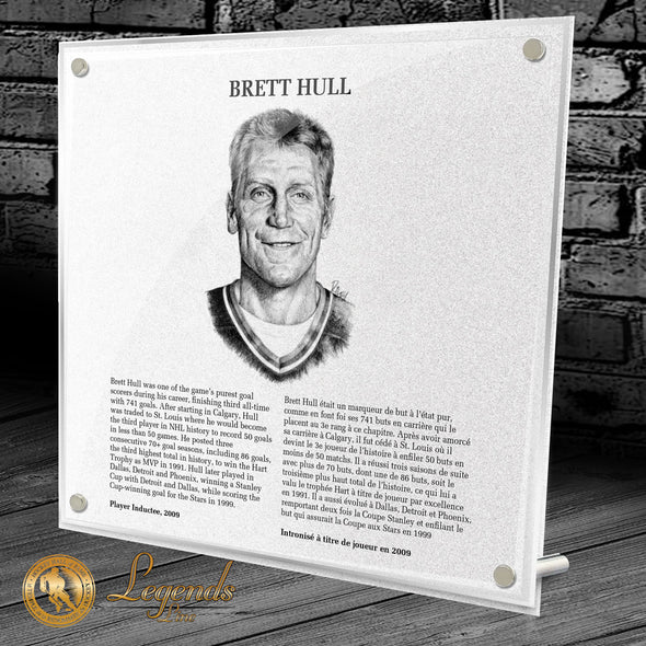 2009 Brett Hull - Legends Plaque