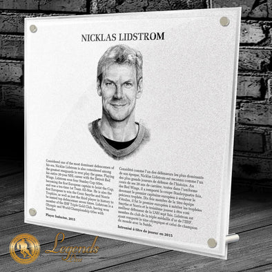 2015 Nicklas Lidstrom - Legends Plaque