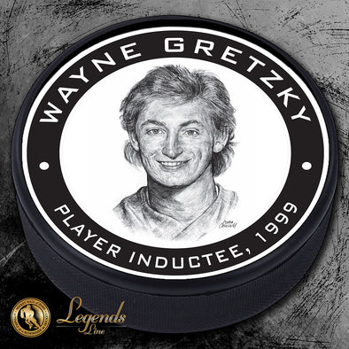 1999 Wayne Gretzky - Legends Textured Puck