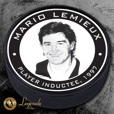 1997 Mario Lemieux -  Legends Textured Puck