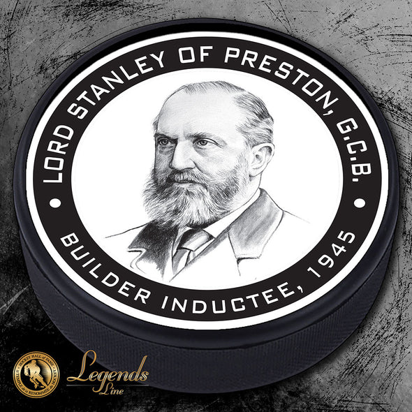 1945 Lord Stanley Preston - NHL Legends Textured Puck