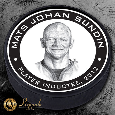 2012 Mats Sundin -  Legends Textured Puck