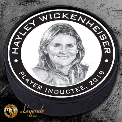 2019 Hayley Wickenheiser - Legends Textured Puck
