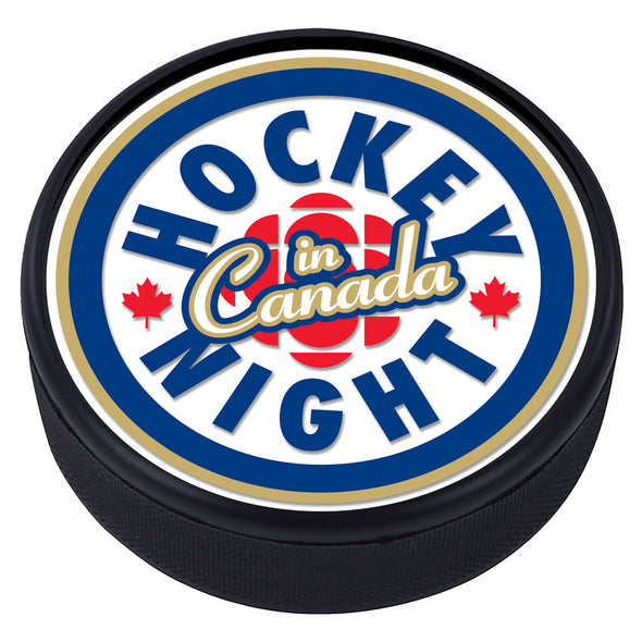 Hockey Night in Canada Textured Puck - Primary