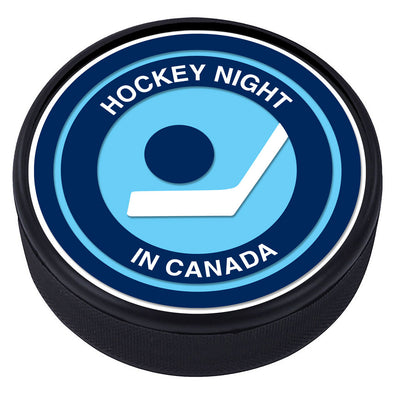 Hockey Night in Canada - Vintage Textured Puck