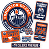 Edmonton Oilers Ultimate Sign Set 7 piece