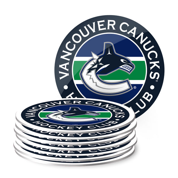 Vancouver Canucks Eight Pack Coaster Set