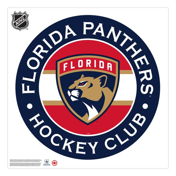 Florida Panthers 36x36 Team Reposistional Wall Vinyl Stripe Design