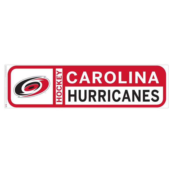Carolina Hurricanes 90x23 Team Reposistional Wall Vinyl