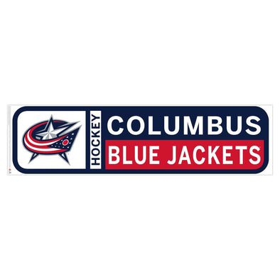 Columbus Blue Jackets 90x23 Team Reposistional Wall Vinyl