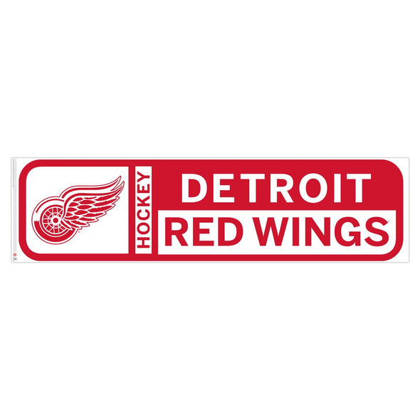 Detroit Red Wings 90x23 Team Reposistional Wall Vinyl