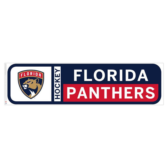 Florida Panthers 90x23 Team Reposistional Wall Vinyl