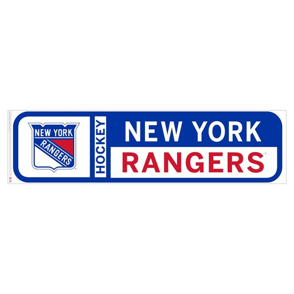New York Rangers 90x23 Team Reposistional Wall Vinyl