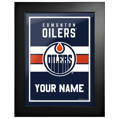 Edmonton Oilers -12x16 Team Personalized Pic Frame