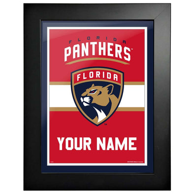 Florida Panthers-12x16 Team Personalized Pic Frame