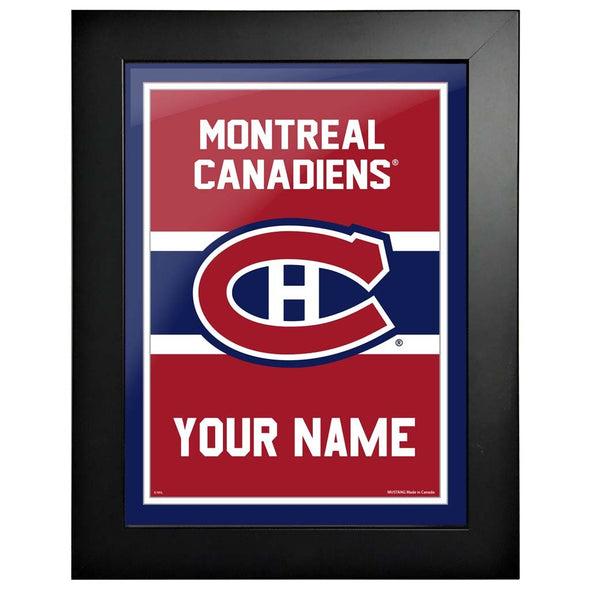 Montreal Canadiens -12x16 Team Personalized Pic Frame