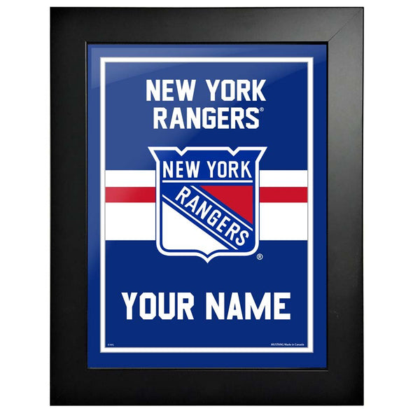 New York Rangers-12x16 Team Personalized Pic Frame