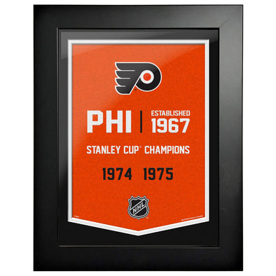 Philadelphia Flyers 12 x 16 Empire Framed Sign
