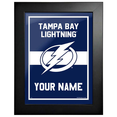 Tampa Bay Lightning-12x16 Team Personalization Pic Frame