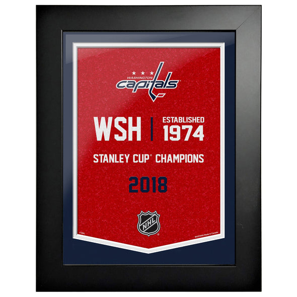 Washington Capitals  12 x 16 Empire Framed Sign