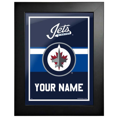 Winnipeg Jets-12x16 Team Personalization Pic Frame