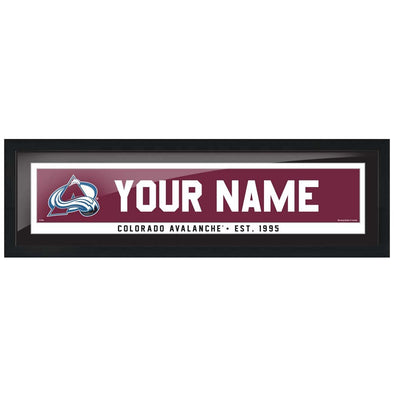 Colorado Avalanche-6x22 Team Personalized Pic Frame
