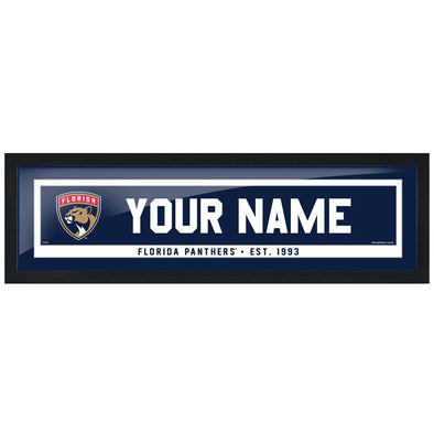 Florida Panthers-6x22 Team Personalized Pic Frame