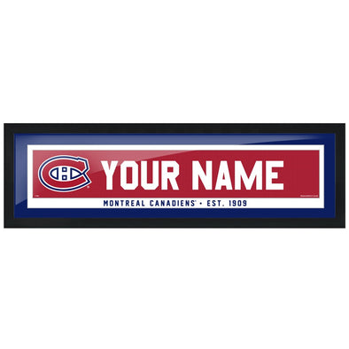 Montreal Canadiens -6x22 Team Personalized Pic Frame