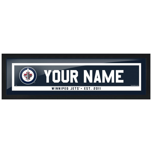 Winnipeg Jets -6x22 Team Personalized Pic Frame