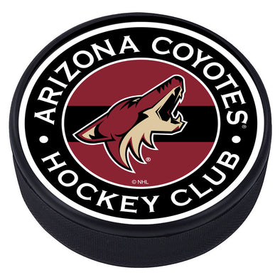 Arizona Coyotes Striped Puck