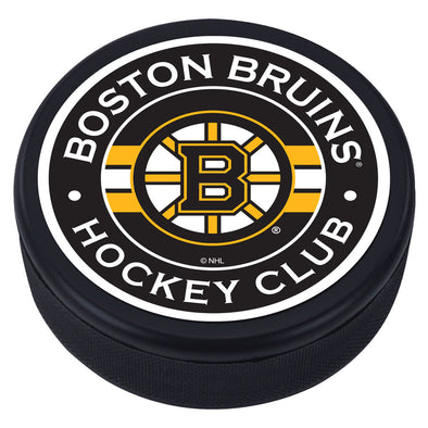 Boston Bruins Striped Puck