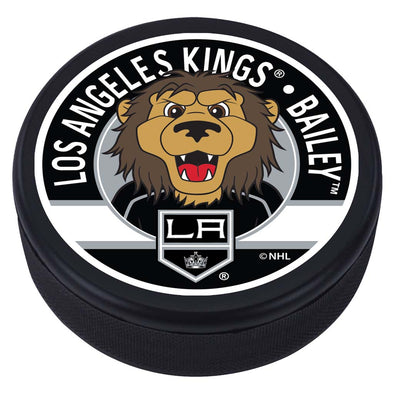 Los Angeles Kings Bailey Mascot Textured Puck