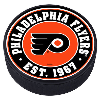 Philadelphia Flyers Established Textured Puck