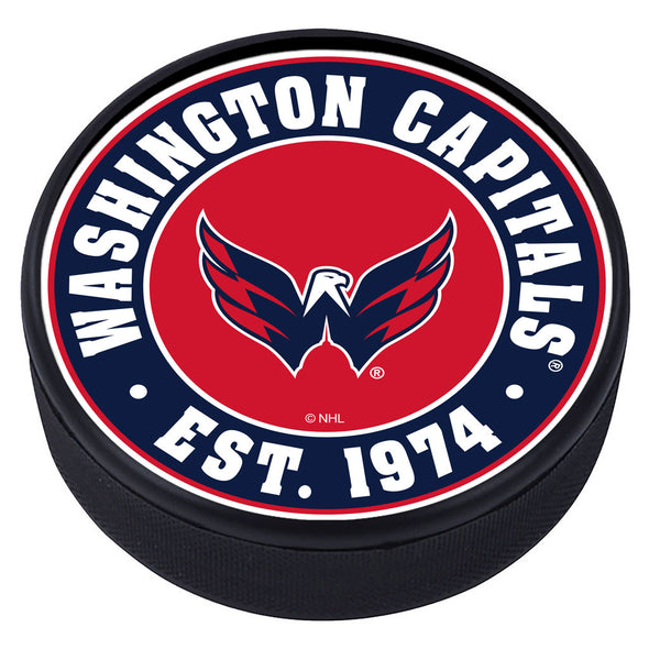 Washington Capitals  Established Textured Puck