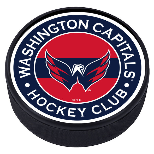 Washington Capitals  Striped Puck