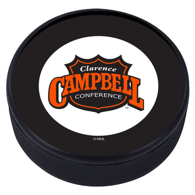 NHL Clarence Campbell Conferecence Vintage Textured Puck