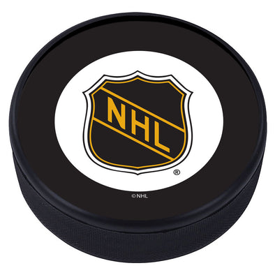 NHL Shield Vintage Classic Textured Puck -  1917