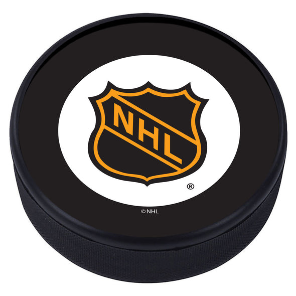 NHL Shield Vintage Classic Textured Puck - 1946