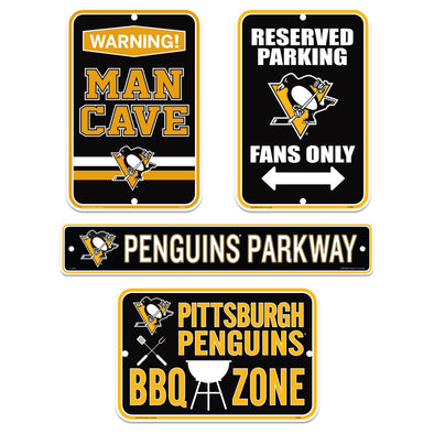 Pittsburgh Penguins Four Pack Fan Sign Set