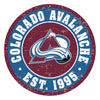 "Colorado Avalanche 22"" Round PVC Distressed Logo Wall Sign"