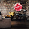 "Detroit Red Wings 22"" Round PVC Distressed Logo Wall Sign"