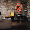 "Philadelphia Flyers 22"" Round PVC Distressed Logo Wall Sign"