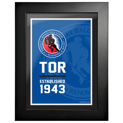 HHOF 12x16 Established Frame